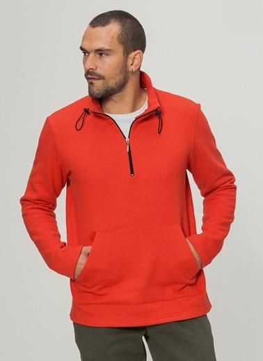 People By Fabrika Sweatshirt Kırmızı